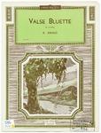 Valse Bluette : Air de Ballet