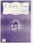 I Love You : Je T' Aime