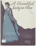 A Beautiful Lady in Blue