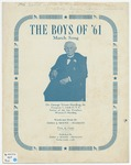 The Boys of '61 : March Song