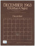 December 1963 : Oh What A Night