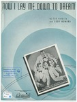 Now I lay me down to dream