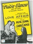 Plaisir d'amour =   Joy of love
