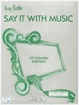 Say It With Music