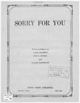 Sorry For You