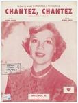 """Chantez, Chantez : Shahn - tay, """"Sing"""""""