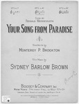 Your Song From Paradise