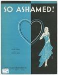 So Ashamed!