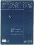 Moonlight Down In Lovers' Lane: Waltz Song