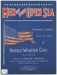 Men of the open sea :   patriotic song /