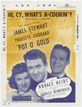 Hi, Cy, What's A - Cookin'?: From the James Roosevelt Presentation