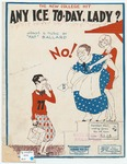 Any Ice To-day, Lady? : A Collegiate Razz-Berry