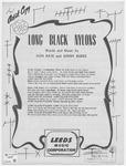 Long Black Nylons
