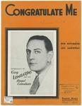 Congratulate Me