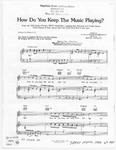 How Do You Keep The Music Playing?: From the 1982 Motion Picture