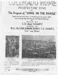 Colorado Home : Prospectors' Song