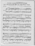 All I Want is All There is And Then Some