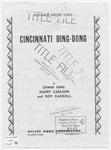 Cincinnati Ding - Dong