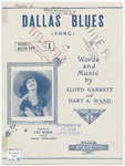 Dallas Blues : Song