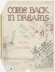 Come Back In Dreams