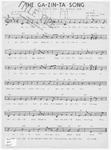 The Ga - zin - ta Song: Two Ga - zin - ta Four - Four Ga - zin - ta Eight