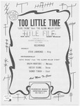 Too Little Time: