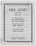 Hey Jose!: Ho-zay