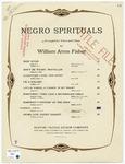 Steal Away : Negro Spiritual
