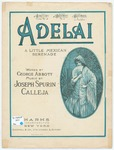 Adelai : A Little Mexican Serenade