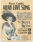 Arab Love Song : (Marie Cahill's)