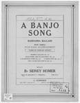 Bandanna Ballads : A Banjo Song