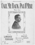 Call Me Back, Pal, O' Mine : Waltz