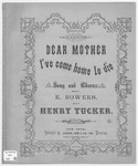 Dear Mother, I've Come Home To Die : Song And Chorus