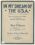 In My Dream Of The U. S. A.