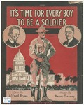 It's Time For Every Boy To Be A Soldier : Song