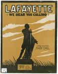 Lafayette :   (we hear you calling)