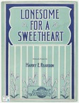 Lonesome For A Sweetheart