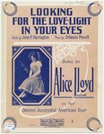Looking For The Love-Light In Your Eyes