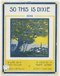 So This Is Dixie : Song