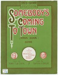 Somebody's Coming To Town : From Dixie
