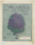 Only A Bunch of Violets : Love Waltz