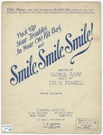 Pack Up Your Troubles In Your Old Kit-Bag And Smile, Smile, Smile