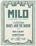 Milo: A Romance of Turkey