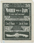 Mother Was A Lady : If Jack were only here