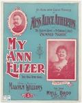 My Ann Elizer : The Rag Time Girl