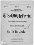 The Old Refrain : Viennese Popular Song
