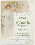 Love, Here Is My Heart! : Mon Coeur Est Pour Toi