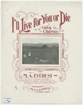 I'll Live For You Or Die