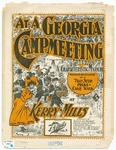 At a Georgia Campmeeting : A Song in Black