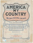 America, My Country : The New National Anthem